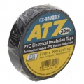 Advance AT7 PVC-tape 19mm x 33m - Sort
