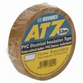 Advance AT7 PVC-tape 19mm x 33m - Brun