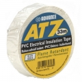 Advance AT7 PVC-tape 19mm x 33m - Hvid