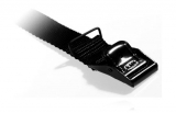 Arno strop - 100 cm x 25 mm - Sort