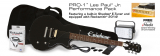 Epiphone PRO-1 Les Paul Jr. Performance Pack - Ebony