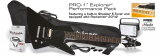 Epiphone PRO-1 Explorer Performance Pack - Ebony