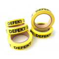 """Defekt""-tape - 66 m x 25 mm"