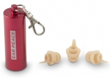 EarPeace HD Ear Plugs - Red