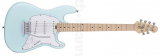 Sterling by Music Man Cutlass CT30SSS Daphne Blue El-guitar