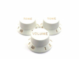 Fender Original Knobs White
