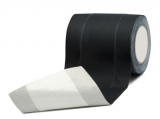 Tunneltape sort, 150mm x 15m gaffa- kabeltape